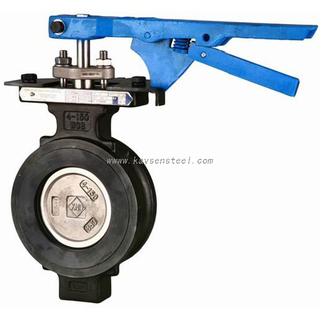 "High Performance Wafer Lug Type Butterfly Valves API CL300 24"" CS SS"
