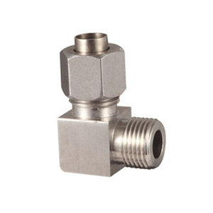 Stainless Steel Forged Compression Fittings Male Elbow