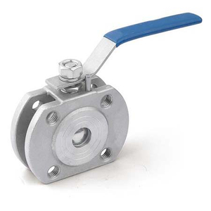 1PC Thin Wafer Ball Valve/1PC Wafer Flange Ball Valve