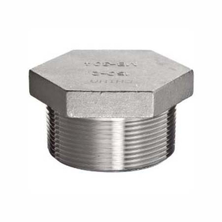 Casting Threaded Hex Plug