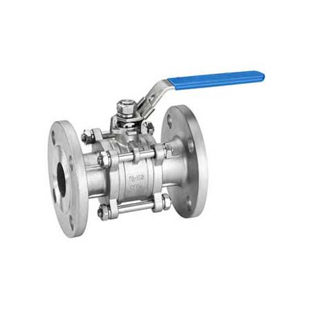3PC Ball Valves Flanged Ends 300LB