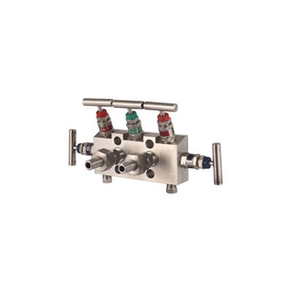 304 316 Stainless Steel 5 Way Valve Manifold