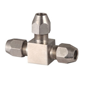 Stainless Steel 3 Way Elbow Tube Fittings