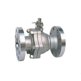 1PC Floating Reducer Bore Flanged Ball Valves