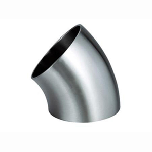Sanitary 45 Degree Weld Elbow
