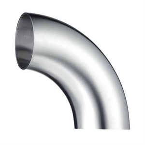 Sanitary 90 Degree Long Radius Welded Elbow